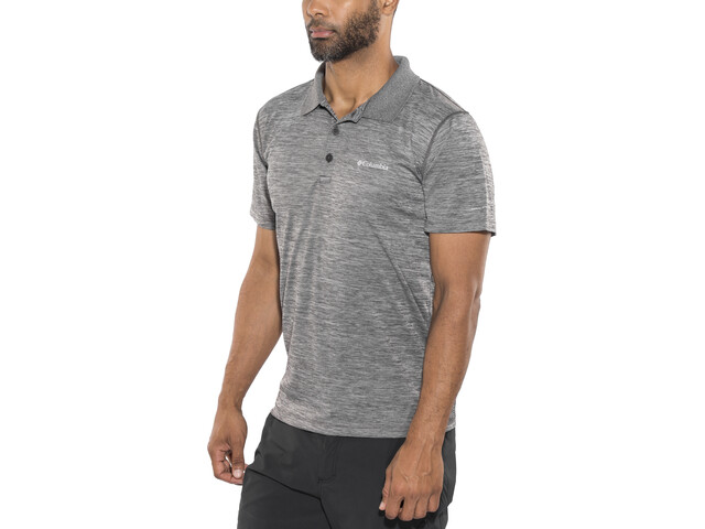 Columbia Zero Rules Polo Shirt Men shark heather